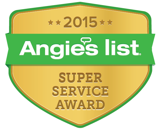 Angie's List 2015 Award Winner Badge.