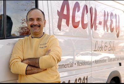 Accu-Key Owner, Mehdi Zahedi.
